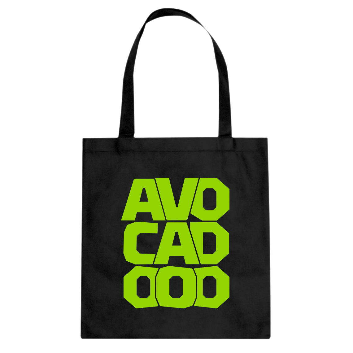Tote Avocado Canvas Tote Bag