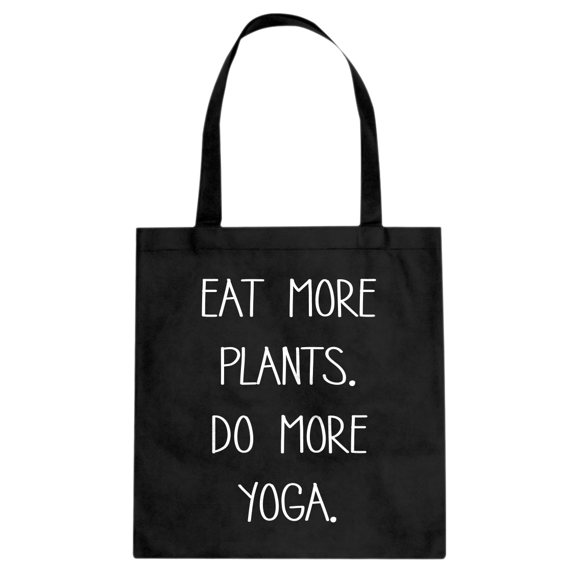 Tote More Plants More Yoga Canvas Tote Bag