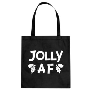 Jolly AF Cotton Canvas Tote Bag