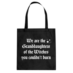 Tote Witches you coudn't burn Canvas Tote Bag