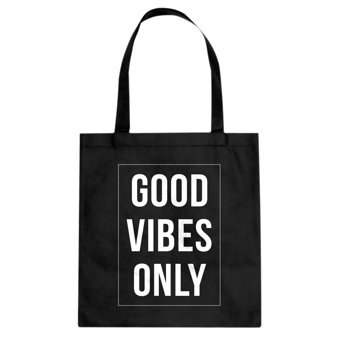 Tote Good Vibes Only Canvas Tote Bag