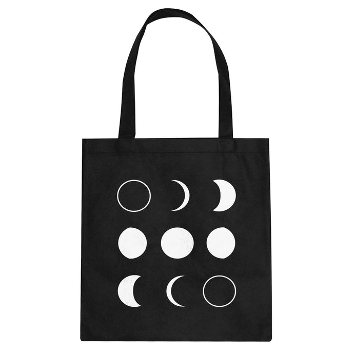 Tote Moon Phases Canvas Tote Bag