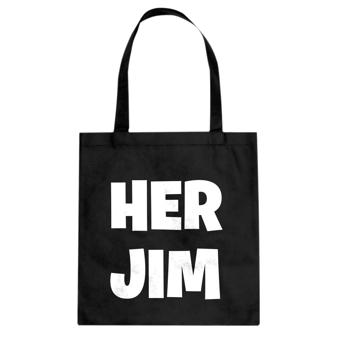 Her Jim Cotton Canvas Tote Bag