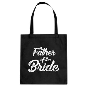 Tote Father of the Bride Canvas Tote Bag