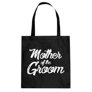 Mother of the Groom Cotton Canvas Tote Bag
