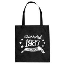 Tote Established 1987 Canvas Tote Bag