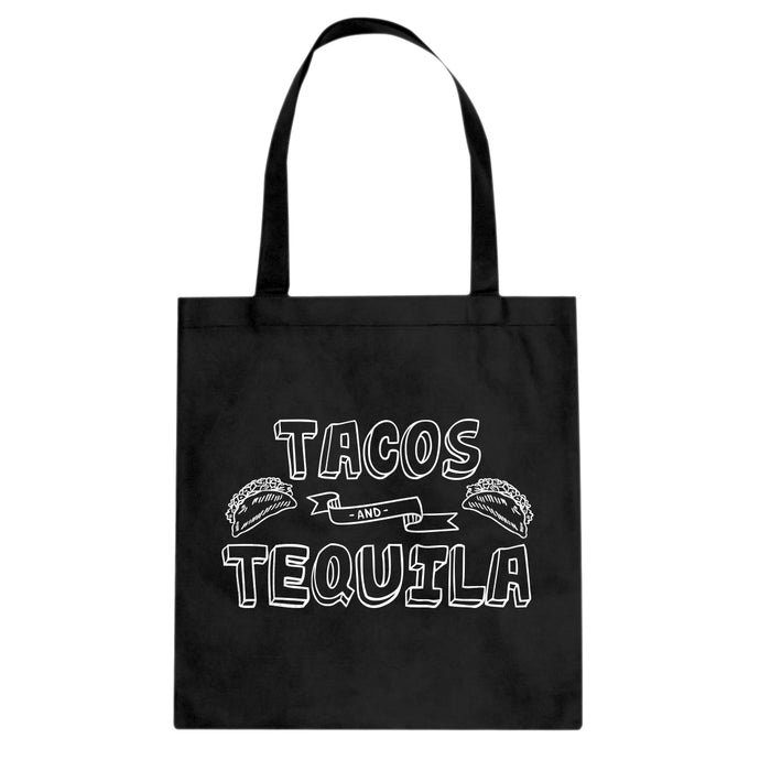 Tote Tacos and Tequila Canvas Tote Bag