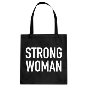 Tote Strong Woman Canvas Tote Bag