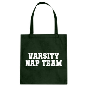 Tote Varsity Nap Team Canvas Tote Bag