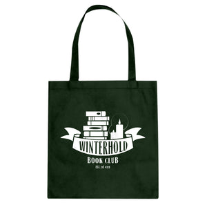 Winterhold Book Club Cotton Canvas Tote Bag