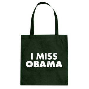 Tote I Miss Obama Canvas Tote Bag