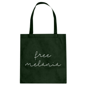 Tote Free Melania Now Canvas Tote Bag