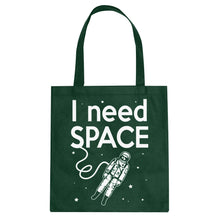 Tote I Need SPACE Canvas Tote Bag