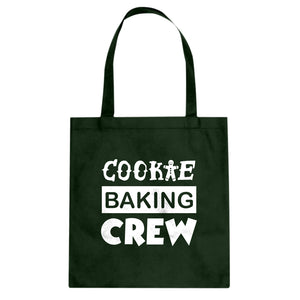 Cookie Baking Crew Cotton Canvas Tote Bag