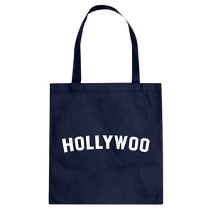 Hollywoo Cotton Canvas Tote Bag