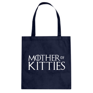 Tote Mother of Kitties Canvas Tote Bag