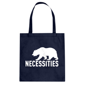 Tote Bear Necessities Canvas Tote Bag