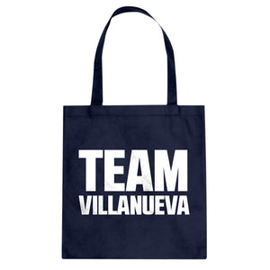 Tote Team Villaneuva Canvas Tote Bag