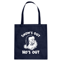 Snows Out Ho's Out Cotton Canvas Tote Bag
