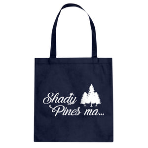 Tote Shady Pines Ma Canvas Tote Bag