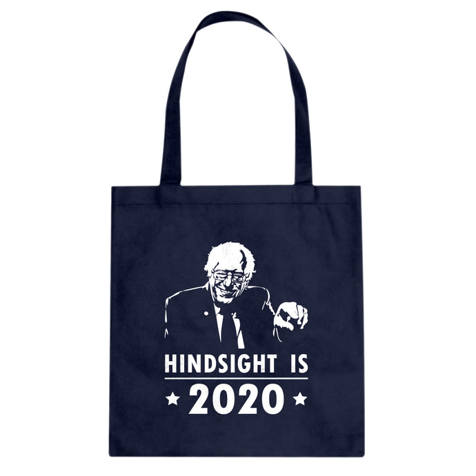 Tote Hindsight 2020 Bernie Canvas Tote Bag