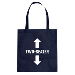 Two Seater Cotton Canvas Tote Bag