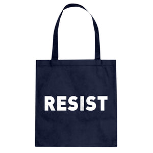 Tote Patriots Resist Canvas Tote Bag