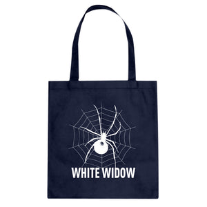 Tote White Widow Canvas Tote Bag