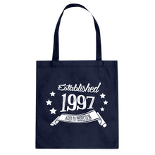 Tote Established 1997 Canvas Tote Bag