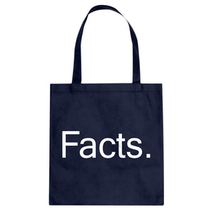 Tote Facts. Canvas Tote Bag