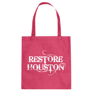Tote Restore Houston Canvas Tote Bag