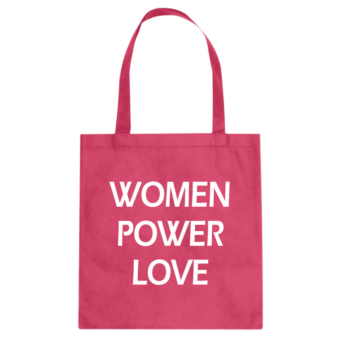 Tote Women Power Love  Canvas Tote Bag