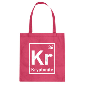 Tote Kryptonite Canvas Tote Bag