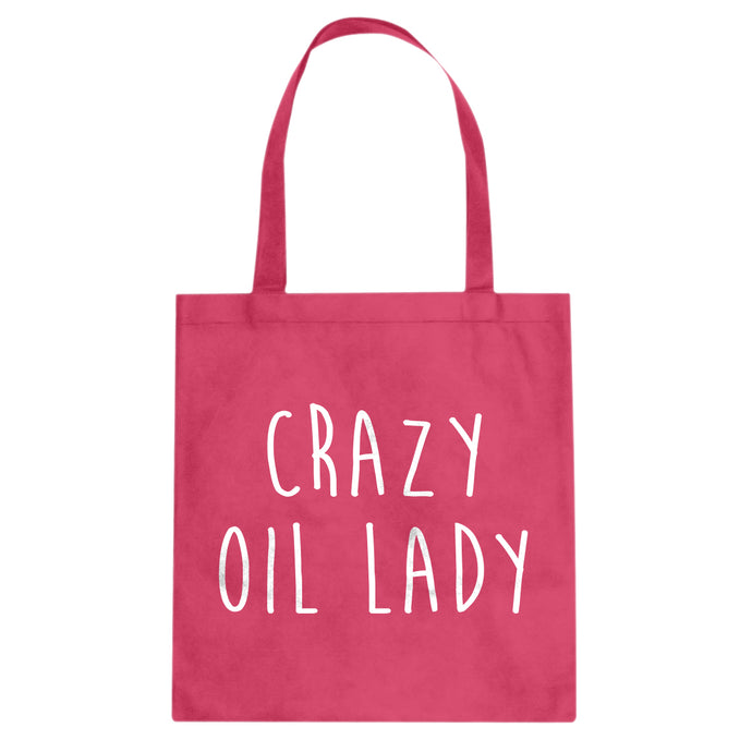Tote Crazy Oil Lady Canvas Tote Bag