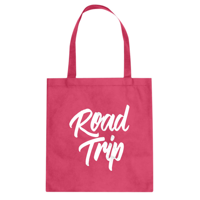 Tote Road Trip Vacation Canvas Tote Bag