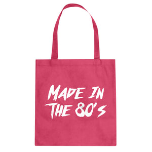 Tote Made in the 80s Canvas Tote Bag