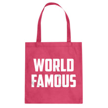 Tote World Famous Canvas Tote Bag