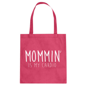 Tote Mommin is my Cardio Canvas Tote Bag