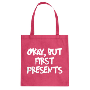 Okay but first, presents. Cotton Canvas Tote Bag