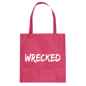 Tote Wrecked Canvas Tote Bag