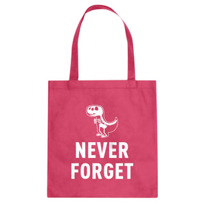 Tote Never Forget Canvas Tote Bag