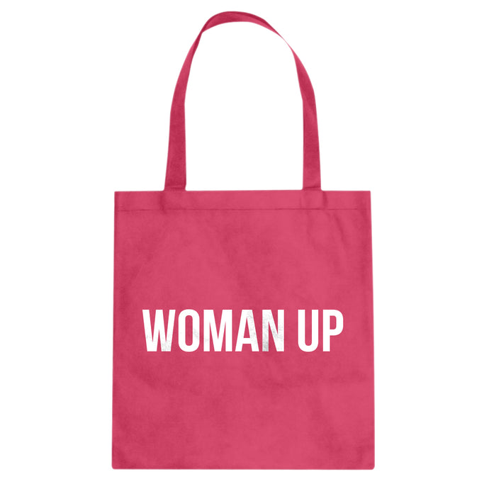 Tote Woman Up Canvas Tote Bag