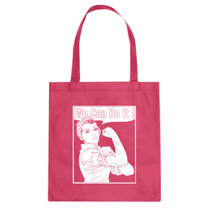 Tote Rosie the Riveter Canvas Tote Bag