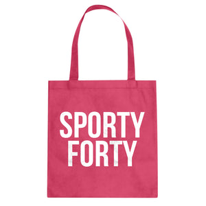 Tote Sporty Forty Canvas Tote Bag