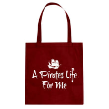 Tote A Pirates Life for Me Canvas Tote Bag