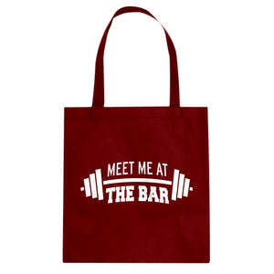 Tote Meet me at the Bar Canvas Tote Bag