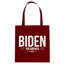 JOE BIDEN for President 2020 Cotton Canvas Tote Bag