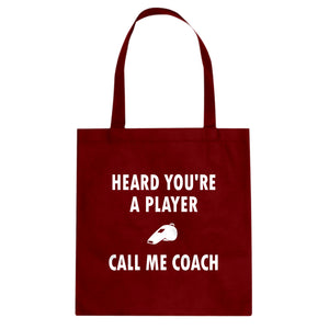 Tote Call me Coach Canvas Tote Bag
