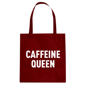 Tote Caffeine Queen Canvas Tote Bag