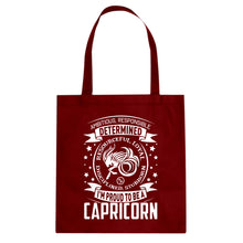 Tote Capricorn Zodiac Astrology Canvas Tote Bag
